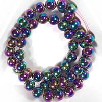 4mm Hematite, Rainbow Hematite, and Pearlescent Hematite Beads for Square Knot Bracelet Designs and More