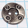 Metal Buttons with Holes