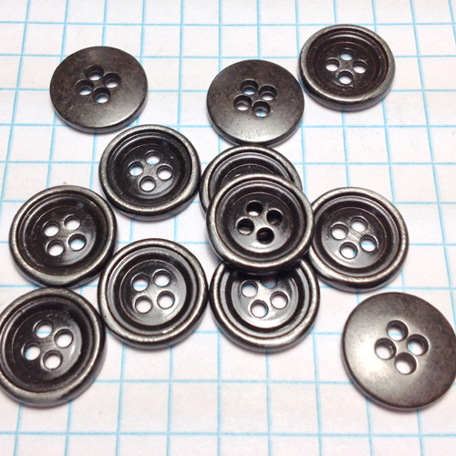 Metal Buttons with Holes for Jewelry