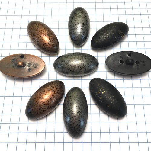 Metal Buttons for Jewelry