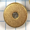 Gold Solitaire Buttons for Jewelry