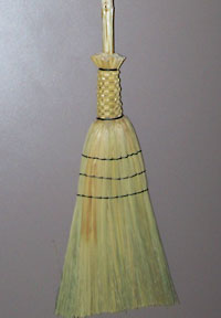 Broom done with C-Lon Bead Cord Tex 400
