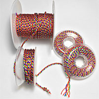 Tibetan Buddhist 5 Color Braided Cord