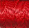 Shanghai Red C-Lon Tex 400 Bead Cord