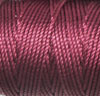 Wine C-Lon Tex 400 Bead Cord