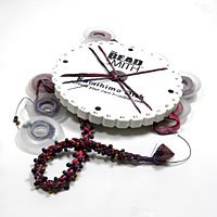 Ribbon and Bead Kumihimo Kit