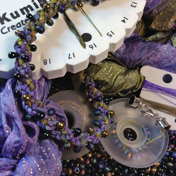 Kumihimo Ribbon & Bead Kit