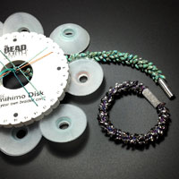 Kumihimo Bracelet with Magatamas Kit