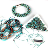 Kumihimo Bead, Vord & Clasp Pack