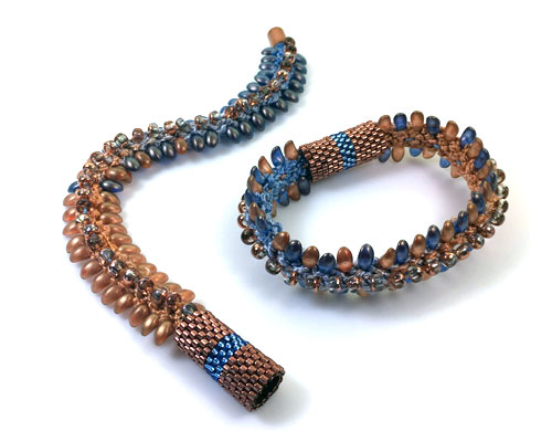 Kumihimo Copper River Bracelet Kit