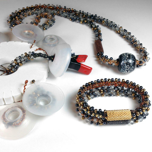 Kumihimo Bracelet Duo and Neckpiece Plus Kits