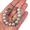 Freshwater Pearls with Large Holes for Multi Strand Linen or Leather Cord Jewelry