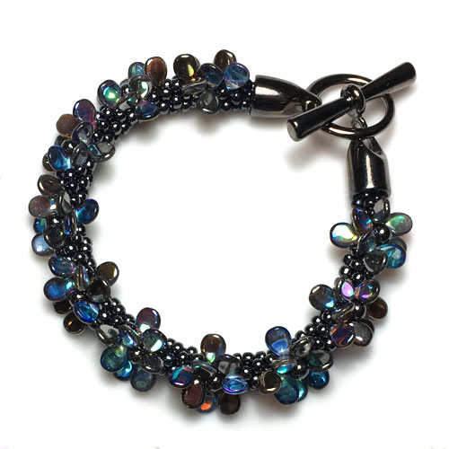Kumihimo Bracelet Kit with PIP Beads