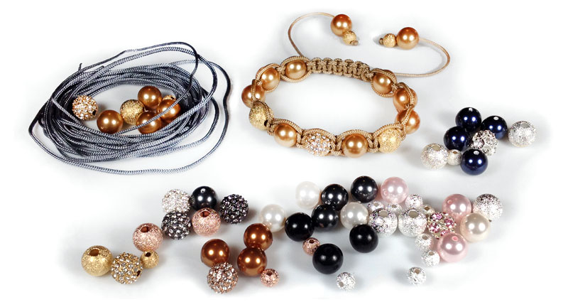 Shambhala Bracelet Materials Kits