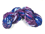 Hand Dyed Silk Ribbon for Kumihimo