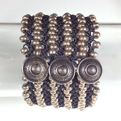 Turkish Flat Bead Crochet Bracelet Kits