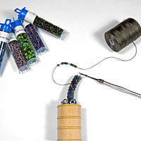 Tubular Bead Crochet Starter Jig & Tutorial Kit